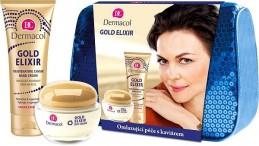 Dermacol GOLD ELIXIR Omlazující péče s kaviárem II. - Kosmetická taška