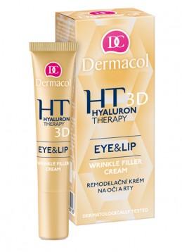 3D HYALURON THERAPY EYE & LIP CREAM - Remodelační krém na oči a rty