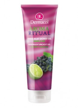 AROMA RITUAL SHOWER GEL – GRAPE AND LIME  Antistresový sprchový gel - hrozny s limetkou