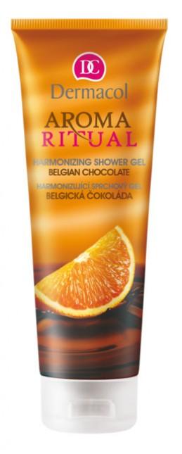 AROMA RITUAL SHOWER GEL - BELGIAN CHOCOLATE  Harmonizující sprchový gel – belgická čokoláda