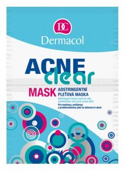 ACNECLEAR MASK  Adstringentní maska pro mastnou, smíšenou a problematickou pleť se sklonem k akné