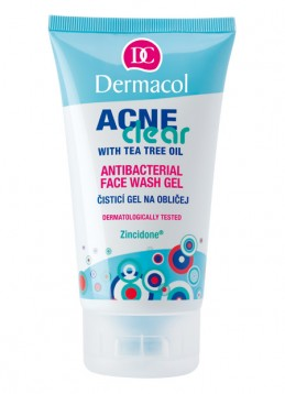 ACNECLEAR ANTIBACTERIAL FACE GEL  Antibakteriální mycí gel na obličej