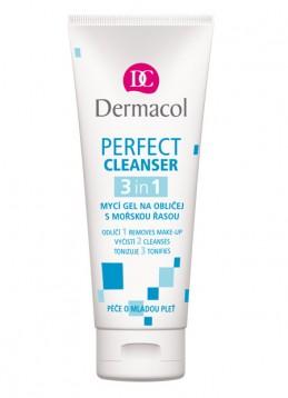 PERFECT CLEANSER 3IN1  Mycí gel na obličej s mořskou řasou