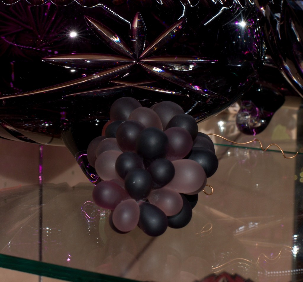 Křišťálový hrozen fialový - velikost 2 - velký
