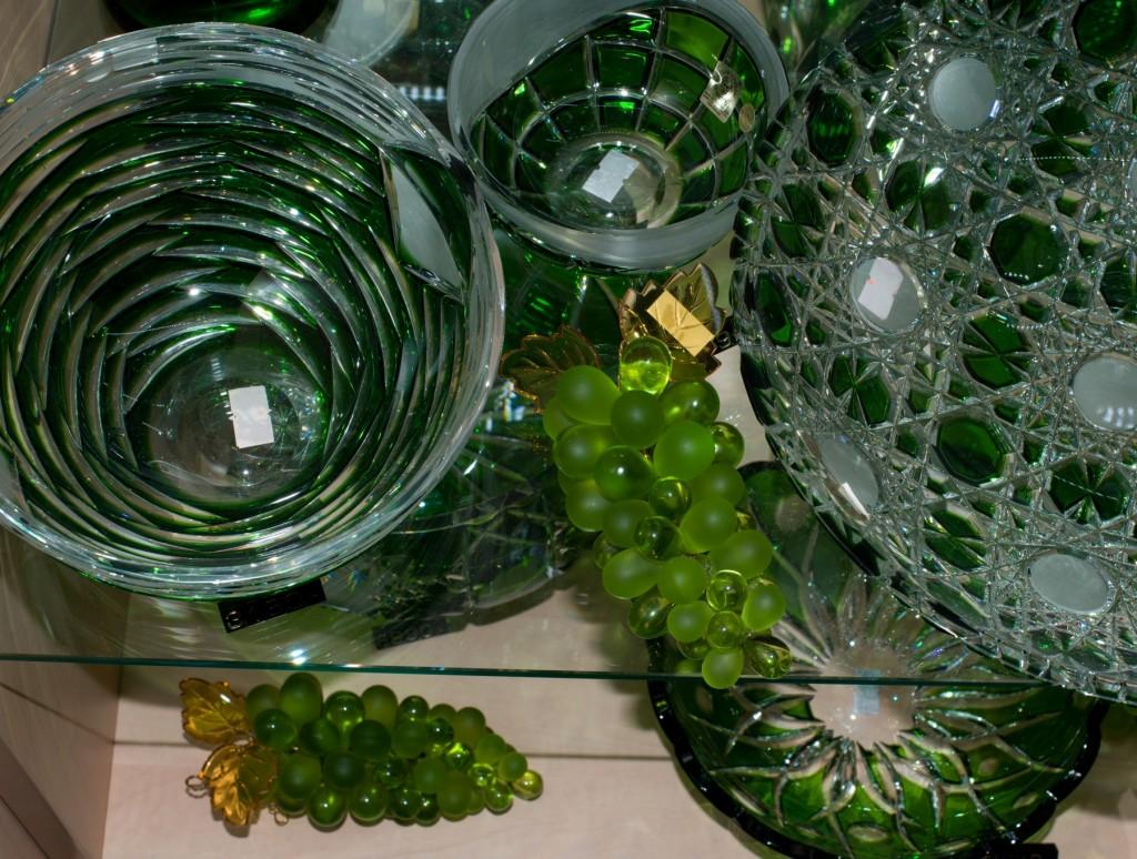 Křišťálový hrozen zelený - velikost 3 - střední