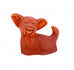 Pokameněná figurka - pes