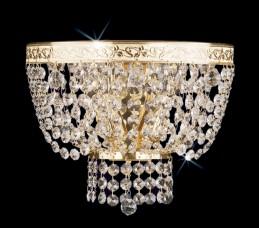 Nástěnné svítidlo WB 0933 - 01 002 Brass