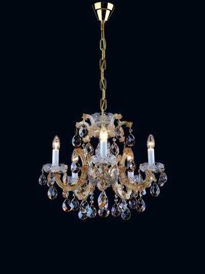 Křišťálový lustr AM 5235 - 03 005 Gold