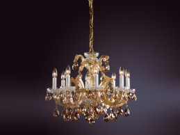 Křišťálový lustr AM 5235 - 03 008 Gold