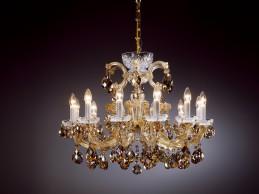 Křišťálový lustr AM 5235 - 003 012 Gold
