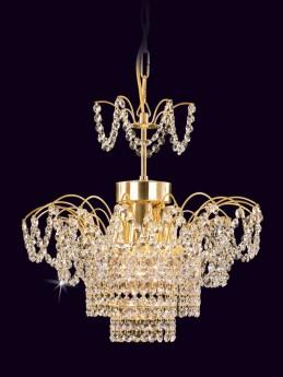 Křišťálový lustrr CA 3144 - 01 003 Brass