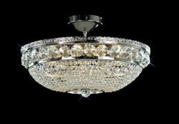 Křišťálový lustr CB 0524 - 00 009 Nickel