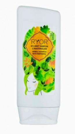 Bylinný šampon s panthenolem