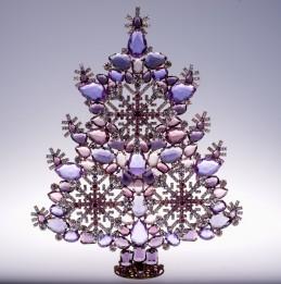 Vánoční stromeček 9/0206 sněhová vločka