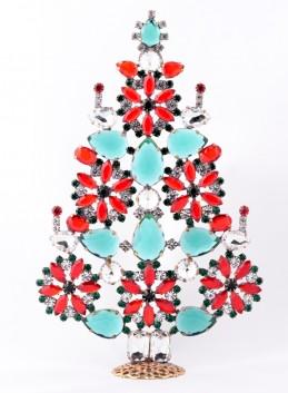Vánoční stromeček 9/0170 kytička