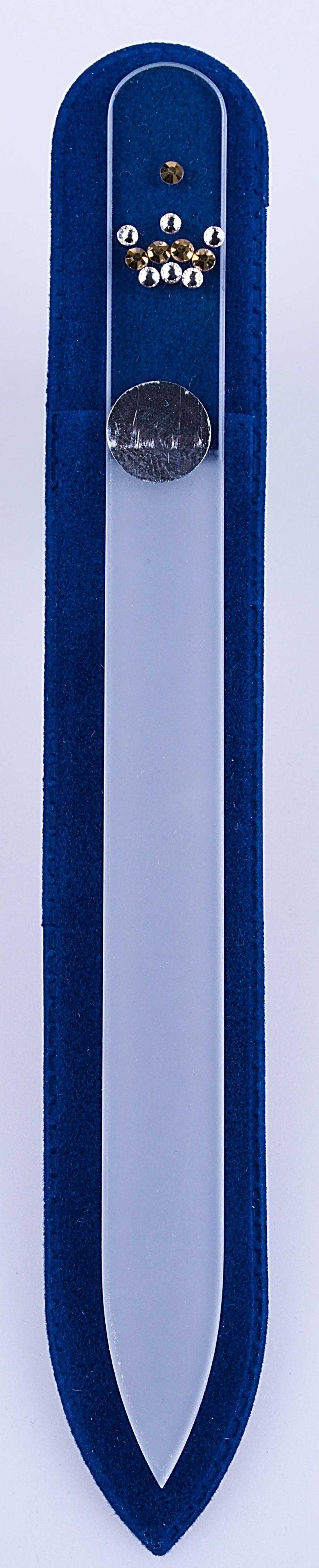 Skleněný pilník Korunka